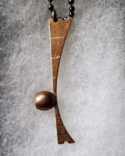 Berimbau Necklace